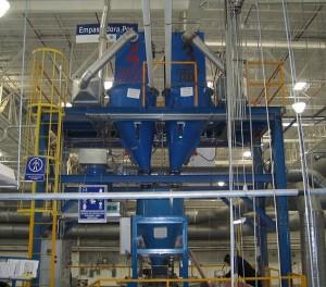 Pneumatic Conveyor Receiver Hoppers